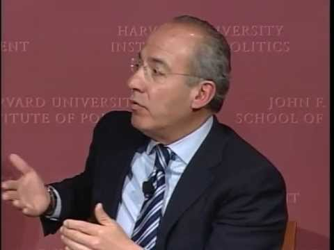 A Conversation with Felipe Calderón & David Ellwood | Institute of Politics