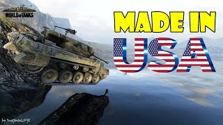 World of Tanks - Funny Moments | MADE IN USA 2!