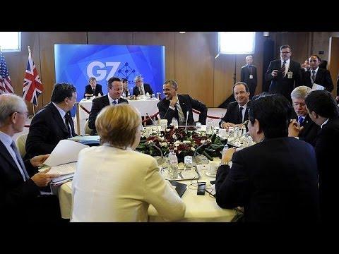 Cracks appear despite united front by G7 leaders