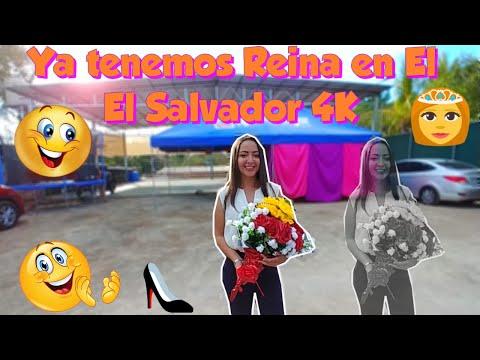 La señorita Sofia es coronada la Reina oficial de El Salvador 4K👏🏼🤗 Parte 17