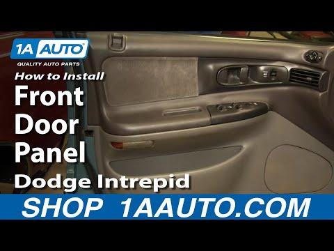 How To Install Replace Front Door Panel Dodge Intrepid 93-97 1AAuto.com