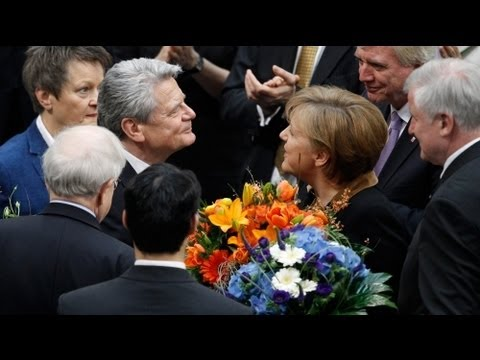 Gauck becomes new president of Germany