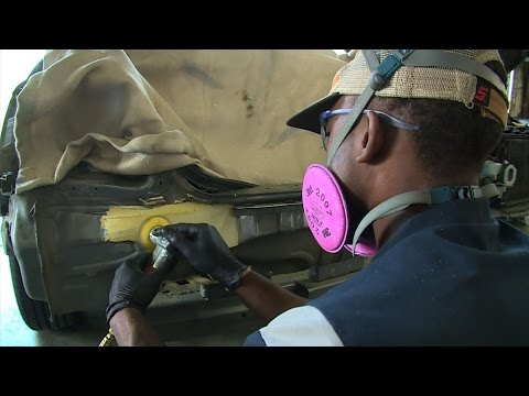 Shortage of car body experts hitting industry hard