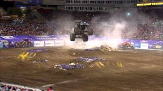 Monster Jam Freestyle On FOX Sports 1 - June 1, 2014 - Tampa, FL