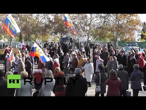 Russia: Crimea celebrates FIRST EVER Russian National Unity Day