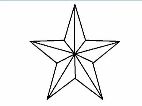 Star Outline Drawing How to Draw a Star