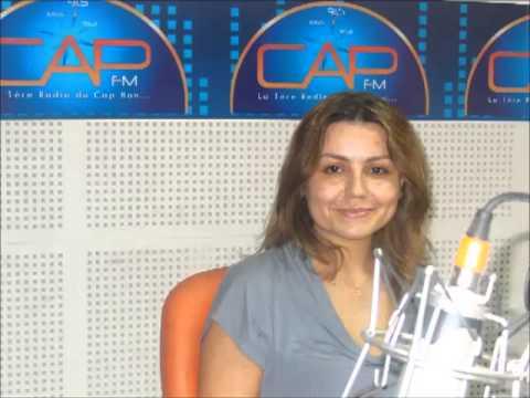 Radio CAP FM TUNISIE : CAPPUCCINO 18 Juillet 2013 : Interview avec Salma Znaidi