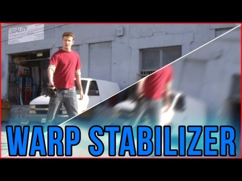How to: Smooth moves from shakey footage! (Warp Stabilizer tutorial)