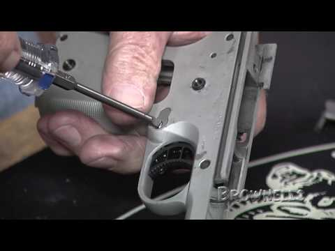 Brownells - Installing a 1911 Drop-in Trigger Kit