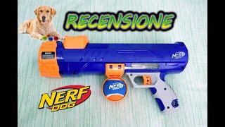 Recensione Nerf Dog Tennis Ball ITA 🐶|| FossilNerf Channel