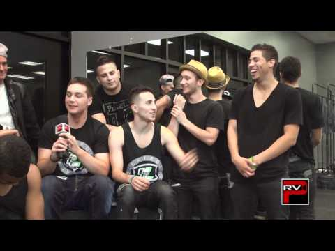 Elektrolytes answer fan questions after rehearsals for Higley Arts Show