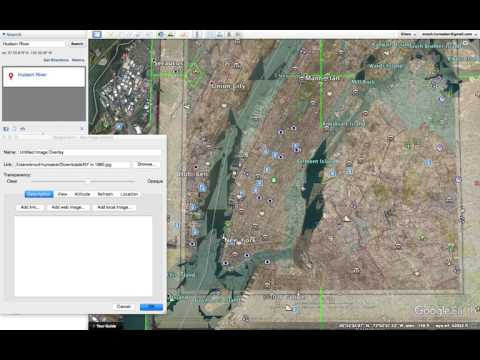 Google Earth Tutorials--Image Overlay