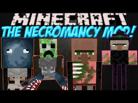 Создай свою армию мобов в Minecraft!Обзор мода Minecraft The Necromancy