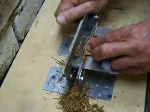 Сделать своими руками машинку для резки табака