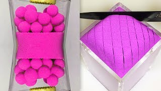 Very Satisfying and Relaxing Compilation 103 Kinetic Sand ASMR