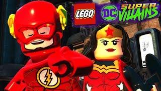 FLASH E MULHER MARAVILHA DO AMOR no LEGO DC Super Villains (Dublado em PT-BR)