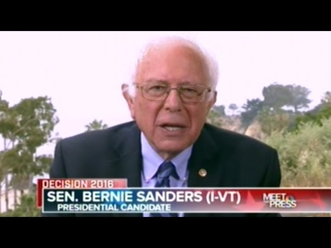 """BERNIE SANDERS """"I HAVE A REAL PROBLEM WITH THE NEW YORK TIMES!"""""""