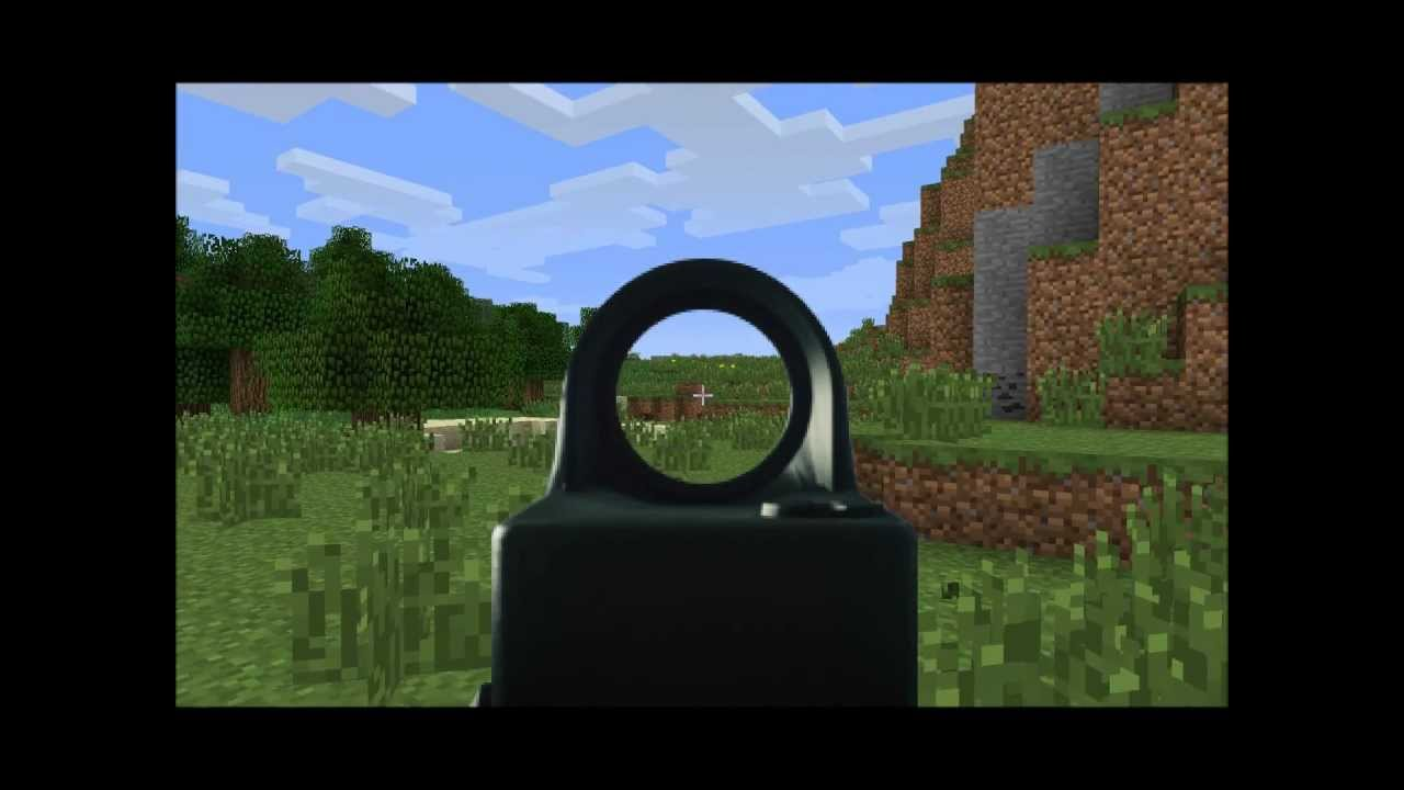 Minecraft Modification Warfield 3 Beta V3 Recoded Recoil MGs Bipod Textures YouTube