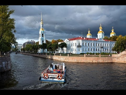 Boat Cruise in St. Petersburg, Russia