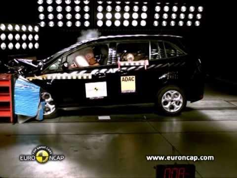 Ford Grand C-MAX: краш-тест EURO NCAP