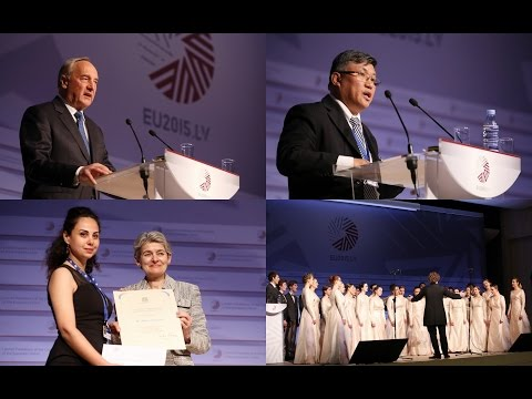 UNESCO/Guillermo Cano World Press Freedom Prize Ceremony, 3 May 2015