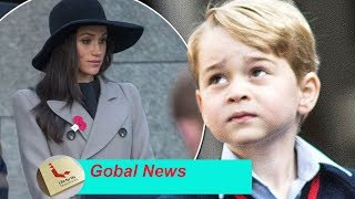 Prince George has a new obsession with Meghan  - and Kate is really scared because of this