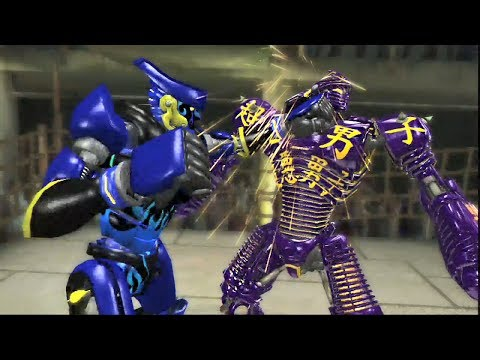 REAL STEEL THE VIDEO GAME [PS3/XBOX360] - PHOTON vs NOISY BOY & JASPER, SEAHAWK