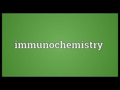 Header of immunochemistry
