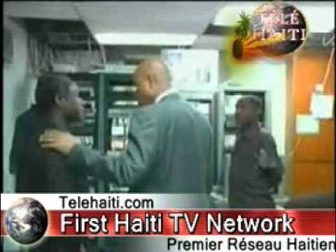 Haiti News: son excellence Michel Martelly Visite La Television Nationale D' haiti TNH