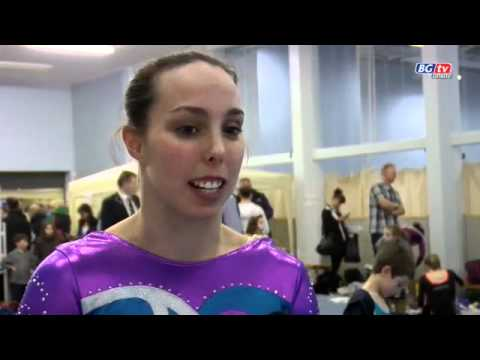 Beth Tweddle exclusive interview 2010 English Championships