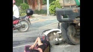 #2 ATV Crash Compilation Fail - Quad Yamaha Raptor Suzuki Honda