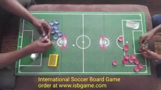 International soccer board game