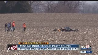 video Plane and body of missing Indianapolis pilot found ◂ RTV6 News brings you the best breaking news coverage in Indiana. News, information & entertainment from RTV6 - Central Indiana's ABC...