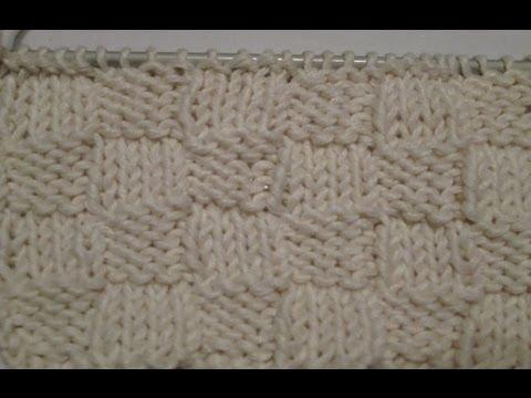 tricoter un damier