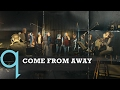 The cast of Come From Away perform Welcome to the Rock live in Studio q