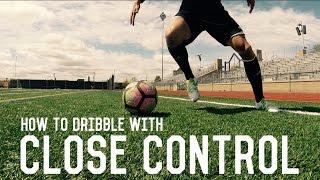 How To Dribble Like Messi | Close Control Dribbling | Fundamental Dribbling Technique Tutorial