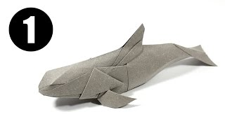 Part1/3 : Origami Vaquita Instruction 摺紙加灣鼠海豚教學 (Kade Chan)