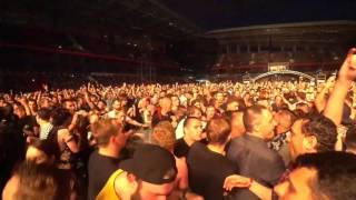 System of a down - Psycho. Parklive. Live in Moscow, Russia, 05.07.17. Fanzone video.