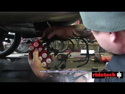 Airing up the Tahoe 3 - Ridetech Shockwave Titanium - Compressor, Electrical, Fittings, PROGRESS!