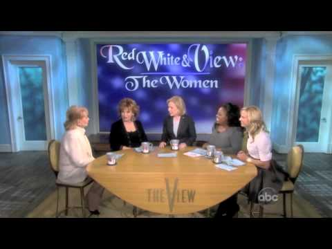 1/17 Senator Gillibrand On The View
