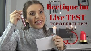 BEETIQUE Live TEST | TOP oder FLOP?!  - VERLOSUNG 💄 Annahita