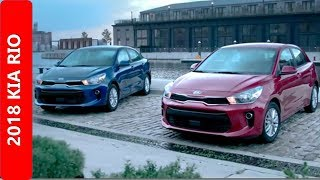 First New 2018 KIA  Rio Sedan and 5-Door Hatchback