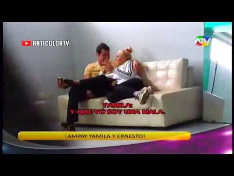 COMBATE Ernesto y Yamila son Ampayados en Situacion Comprometedora 01/11/13