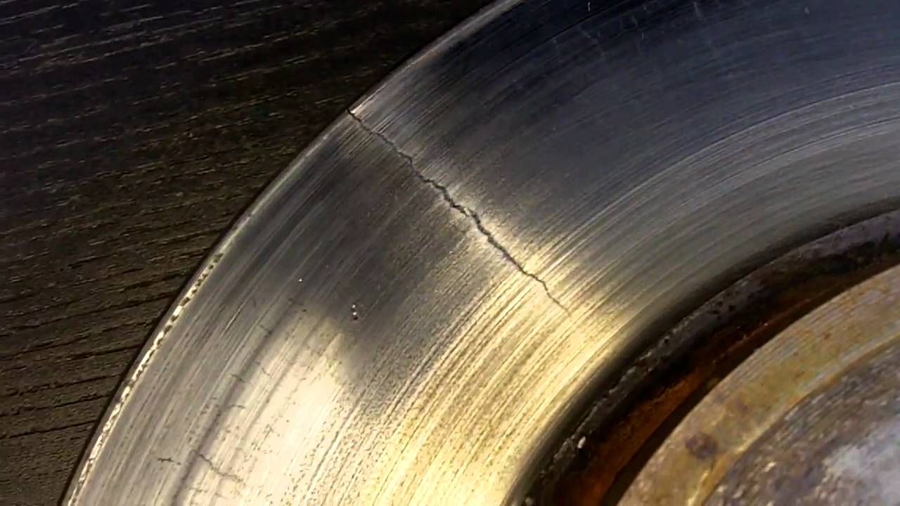 Brake Rotor Wear And Replacement Youtube