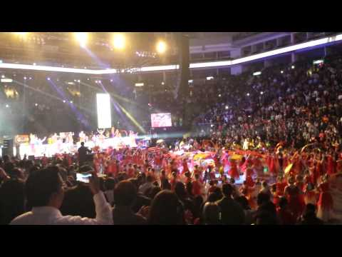 Iafcj  100 años pentecostalismo Arena monterrey