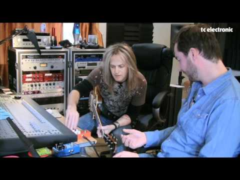 Doug Aldrich creates a TonePrint for TC Electronic's Shaker Vibrato