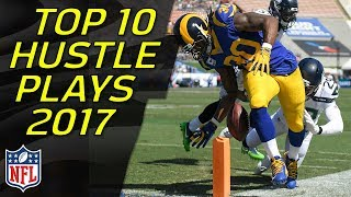 Top 10 OUTSTANDING EFFORT Plays of the 2017 Regular Season | NFL Highlights