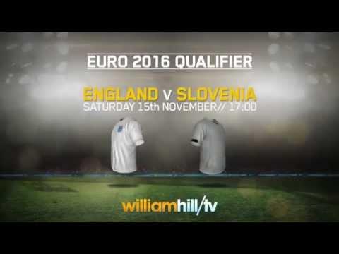 England v Slovenia Betting Preview - 15/11/14