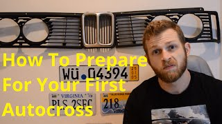 Everything you should know to prepare for your first autocross!