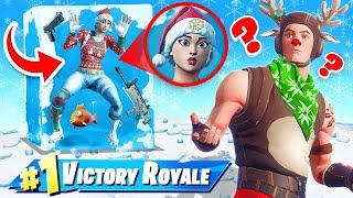 STUCK in ICE CHALLENGE in Fortnite